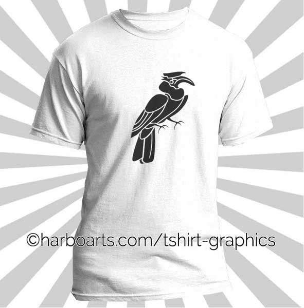 Grey Hornbill svg #11, Download drawings