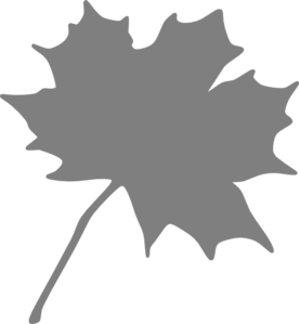 Grey. Leaf clipart #19, Download drawings