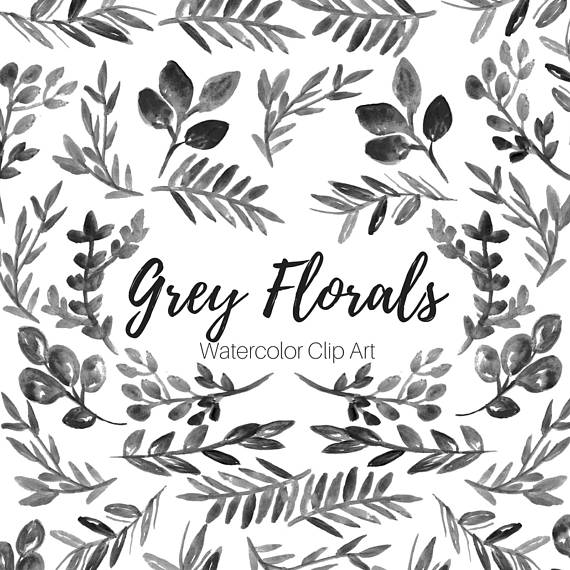 Grey. Leaf clipart #16, Download drawings