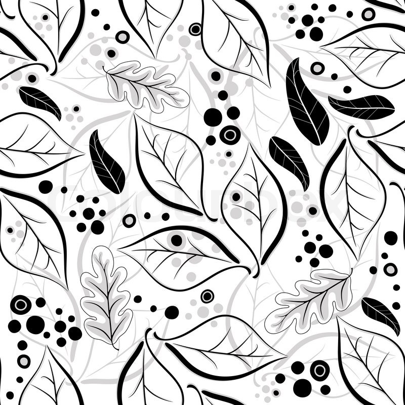 Grey. Leaf coloring #5, Download drawings