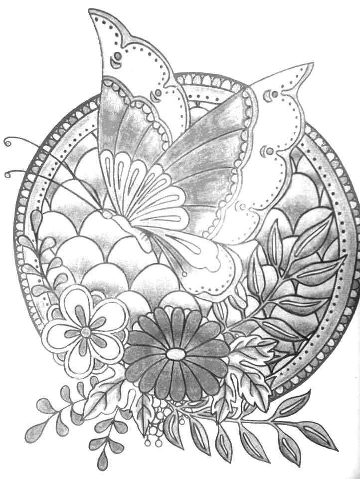Grey. Leaf coloring #10, Download drawings