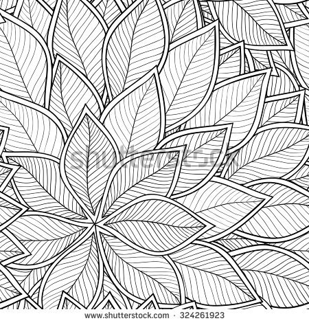 Grey. Leaf coloring #16, Download drawings