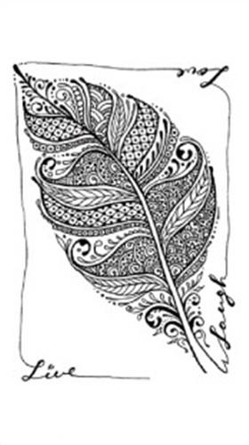 Grey. Leaf coloring #14, Download drawings