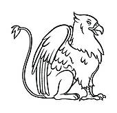 Griffon clipart #17, Download drawings