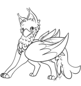 Gryphon coloring #16, Download drawings