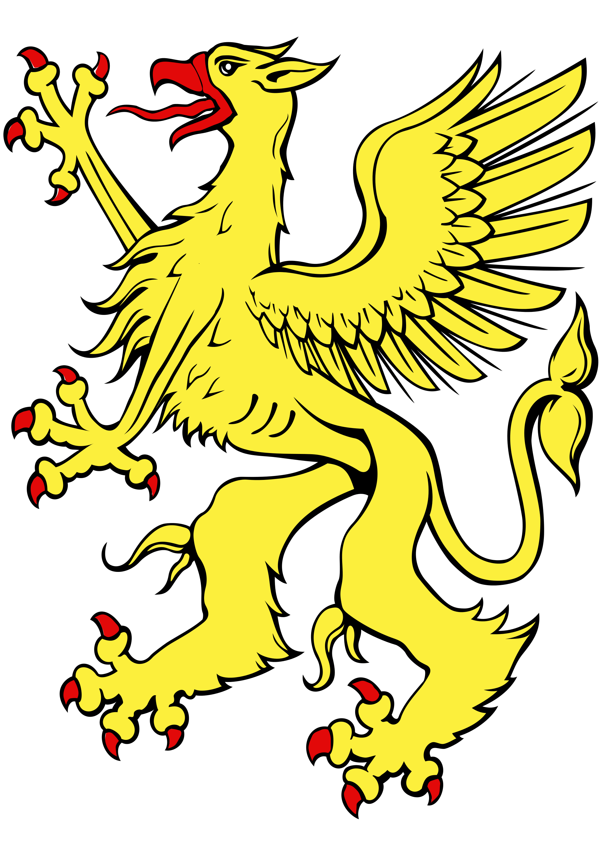 Griffon svg #16, Download drawings