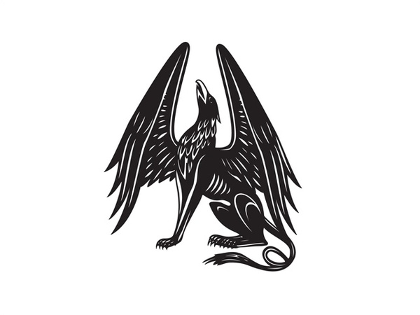 Griffon svg #5, Download drawings