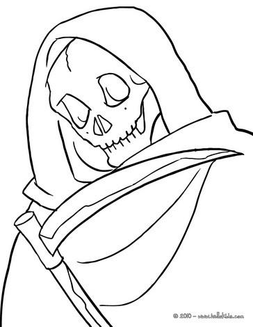 Reaper coloring #11, Download drawings
