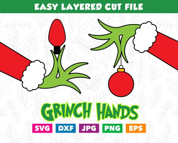 grinch hand svg #1133, Download drawings