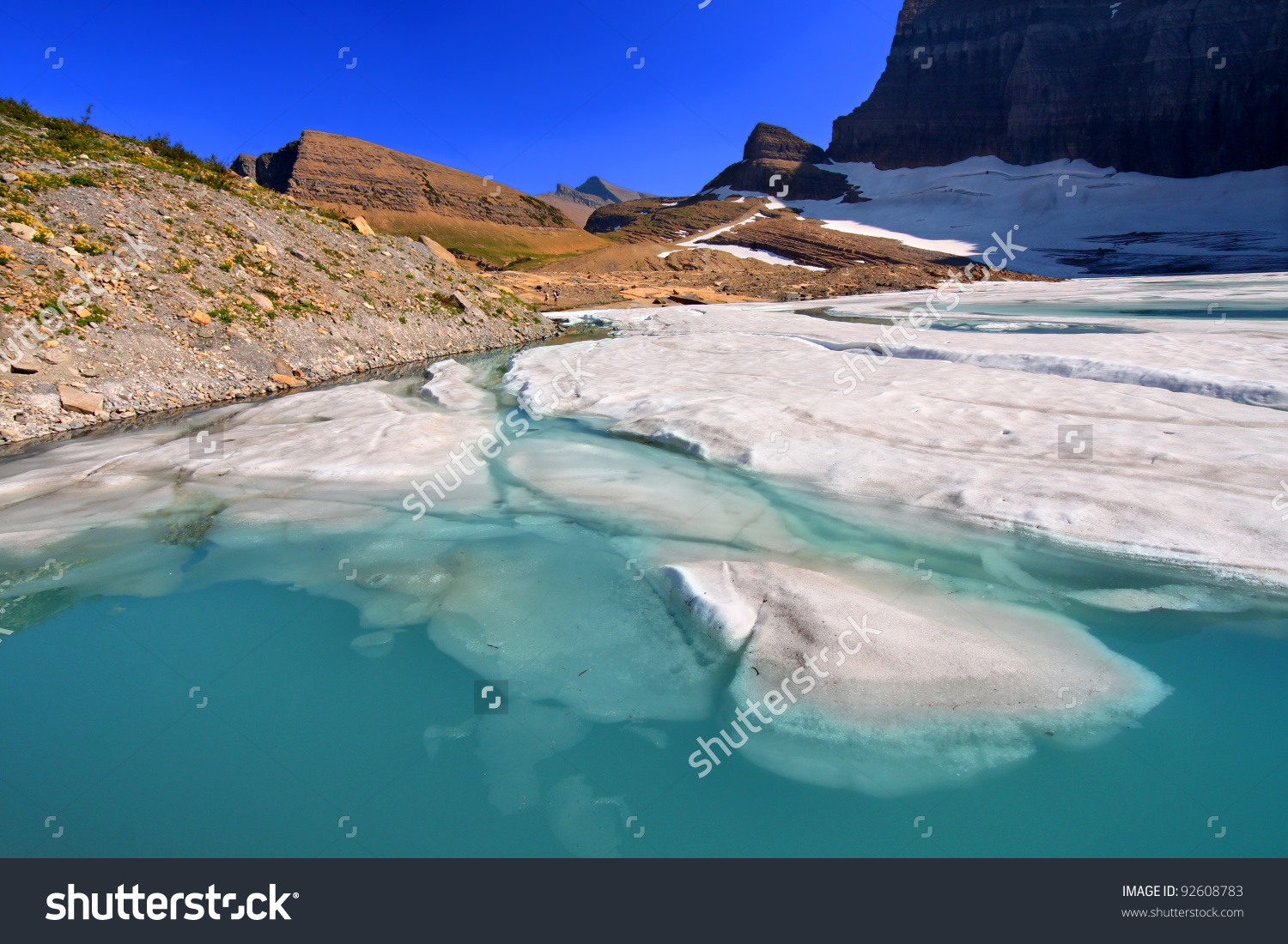 Grinnell Glacier clipart #3, Download drawings