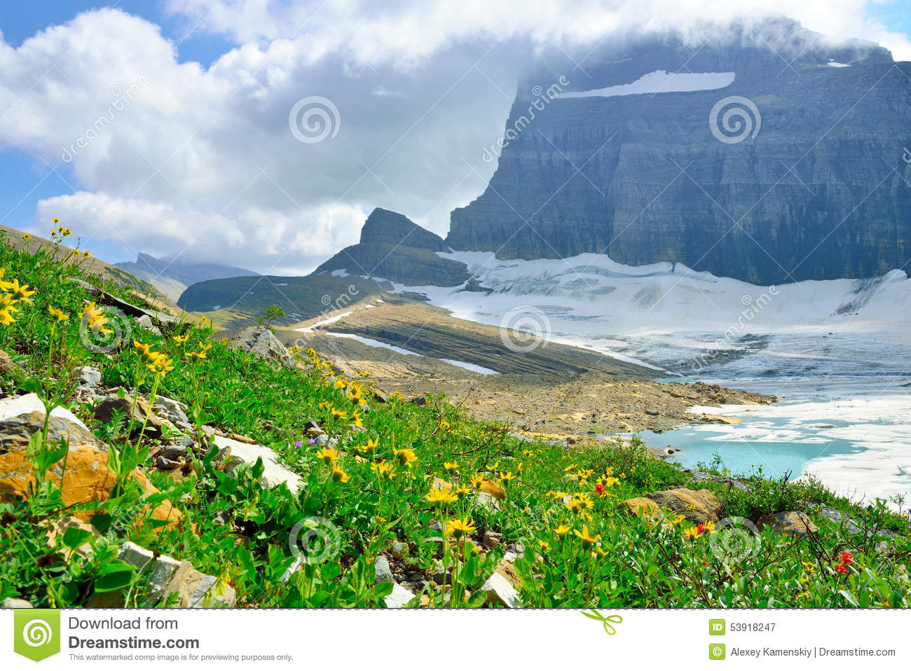 Grinnell Glacier clipart #17, Download drawings