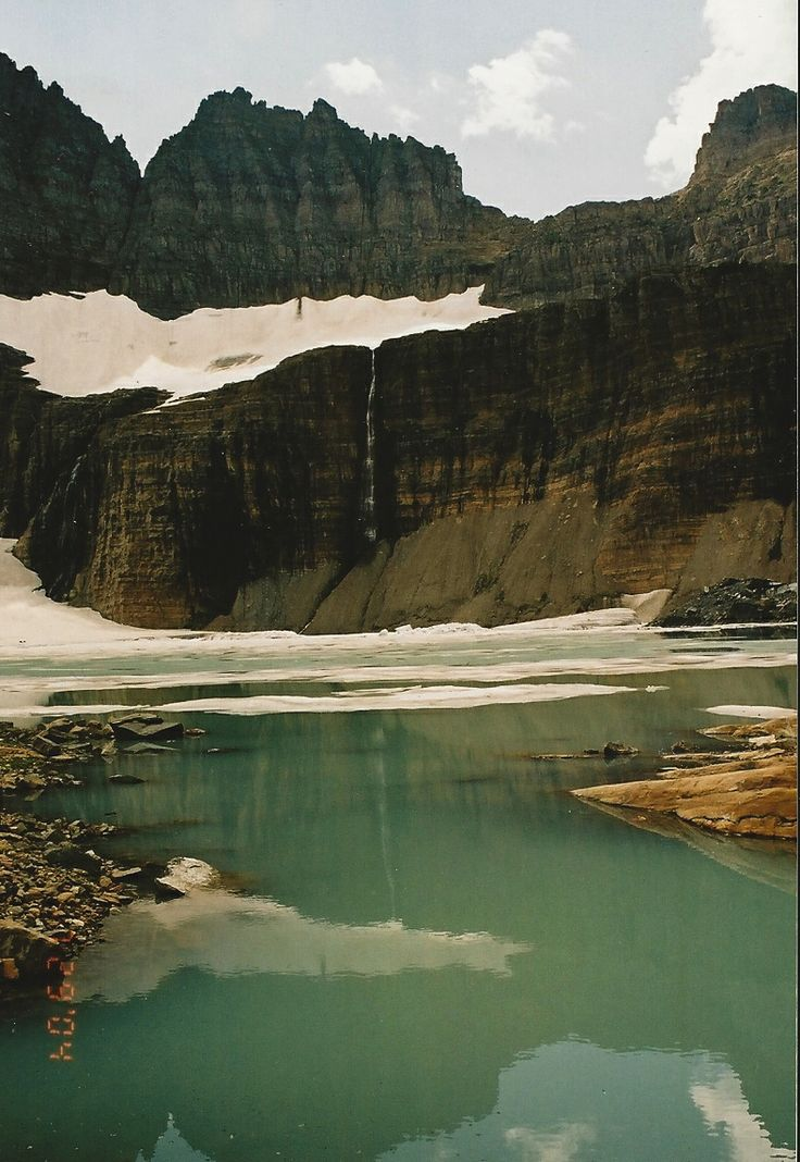 Grinnell Glacier coloring #7, Download drawings