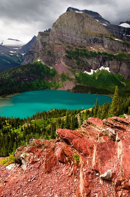 Grinnell Lake coloring #10, Download drawings