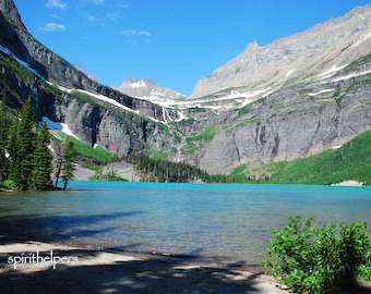 Grinnell Lake coloring #19, Download drawings