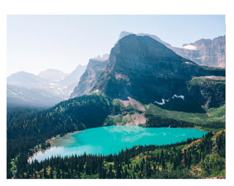 Grinnell Lake coloring #16, Download drawings