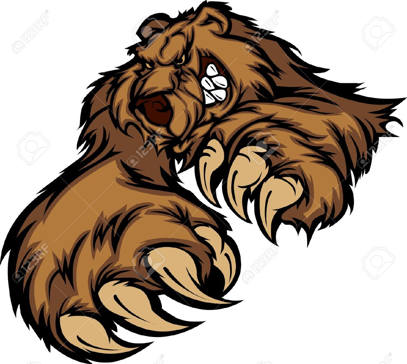 Grizzly Bear clipart #5, Download drawings