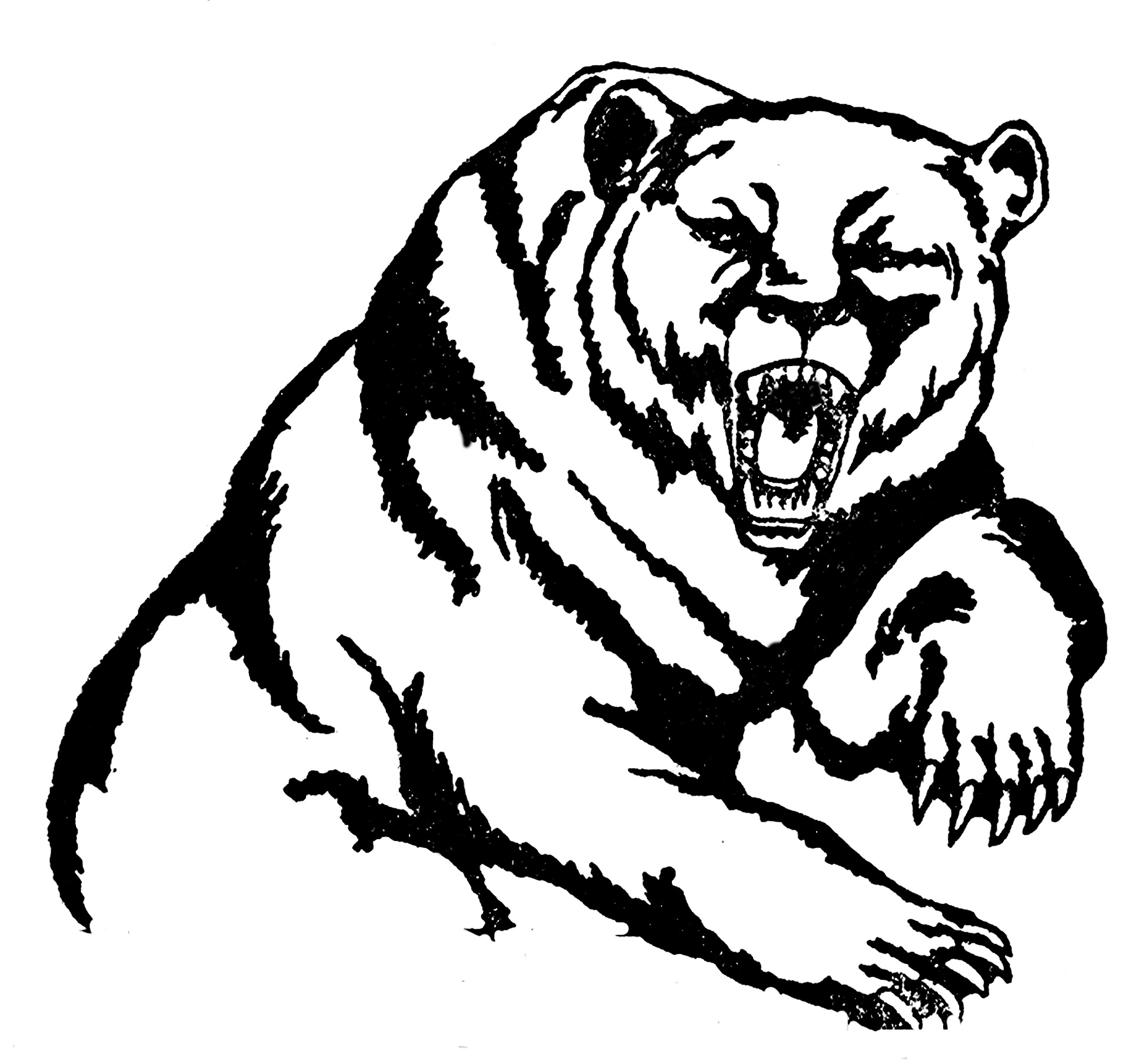 Grizzly clipart #2, Download drawings
