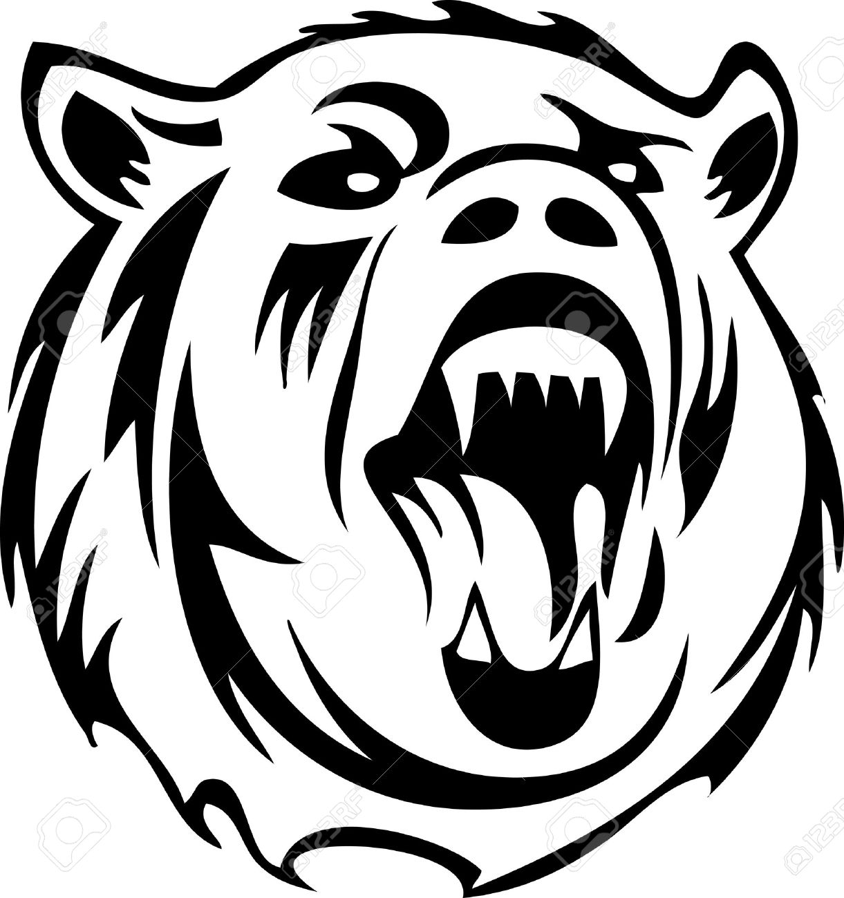 Grizzly clipart #8, Download drawings