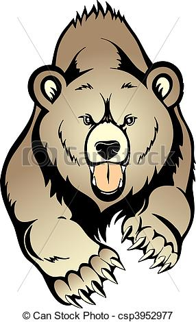 Grizzly clipart #10, Download drawings