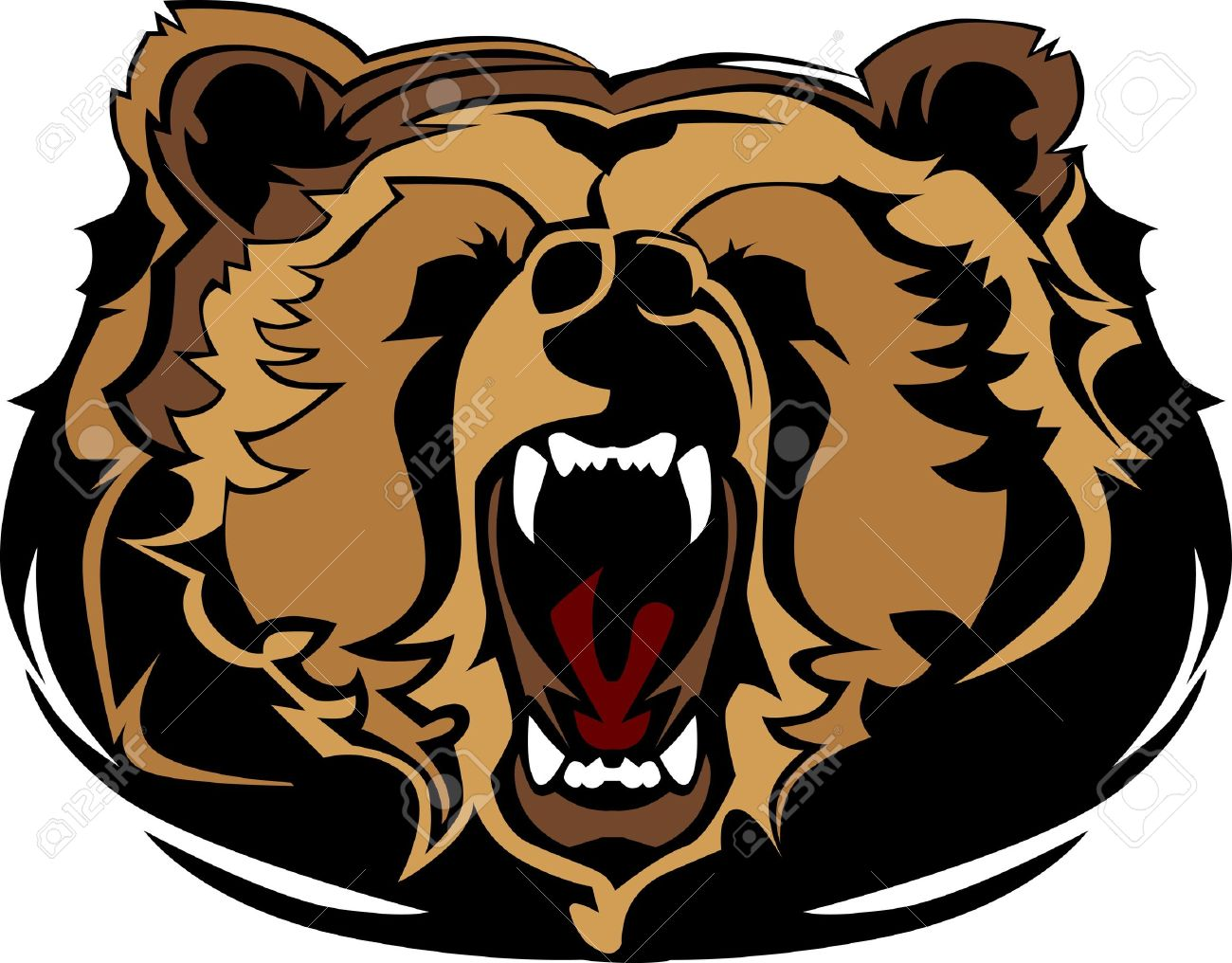 Grizzly clipart #13, Download drawings