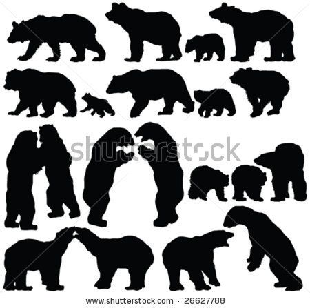 Grizzly Family clipart #16, Download drawings