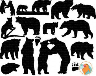 Grizzly Cubs clipart #1, Download drawings