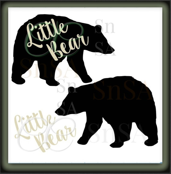 Grizzly Family svg #2, Download drawings