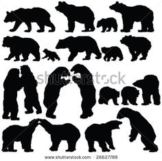 Grizzly Family clipart #13, Download drawings