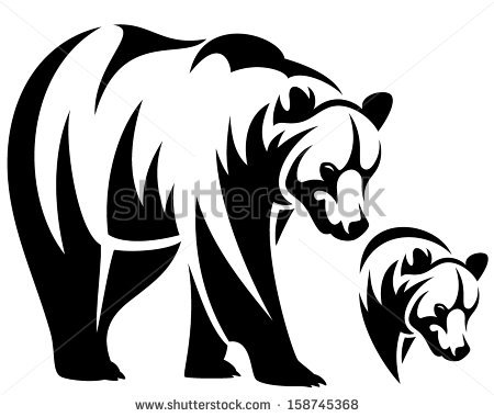 Grizzly Family clipart #5, Download drawings