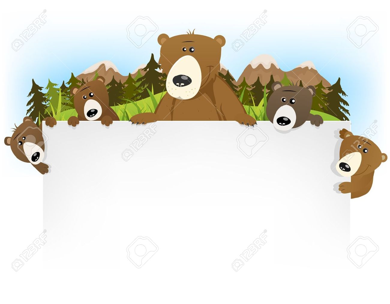 Grizzly Family clipart #17, Download drawings