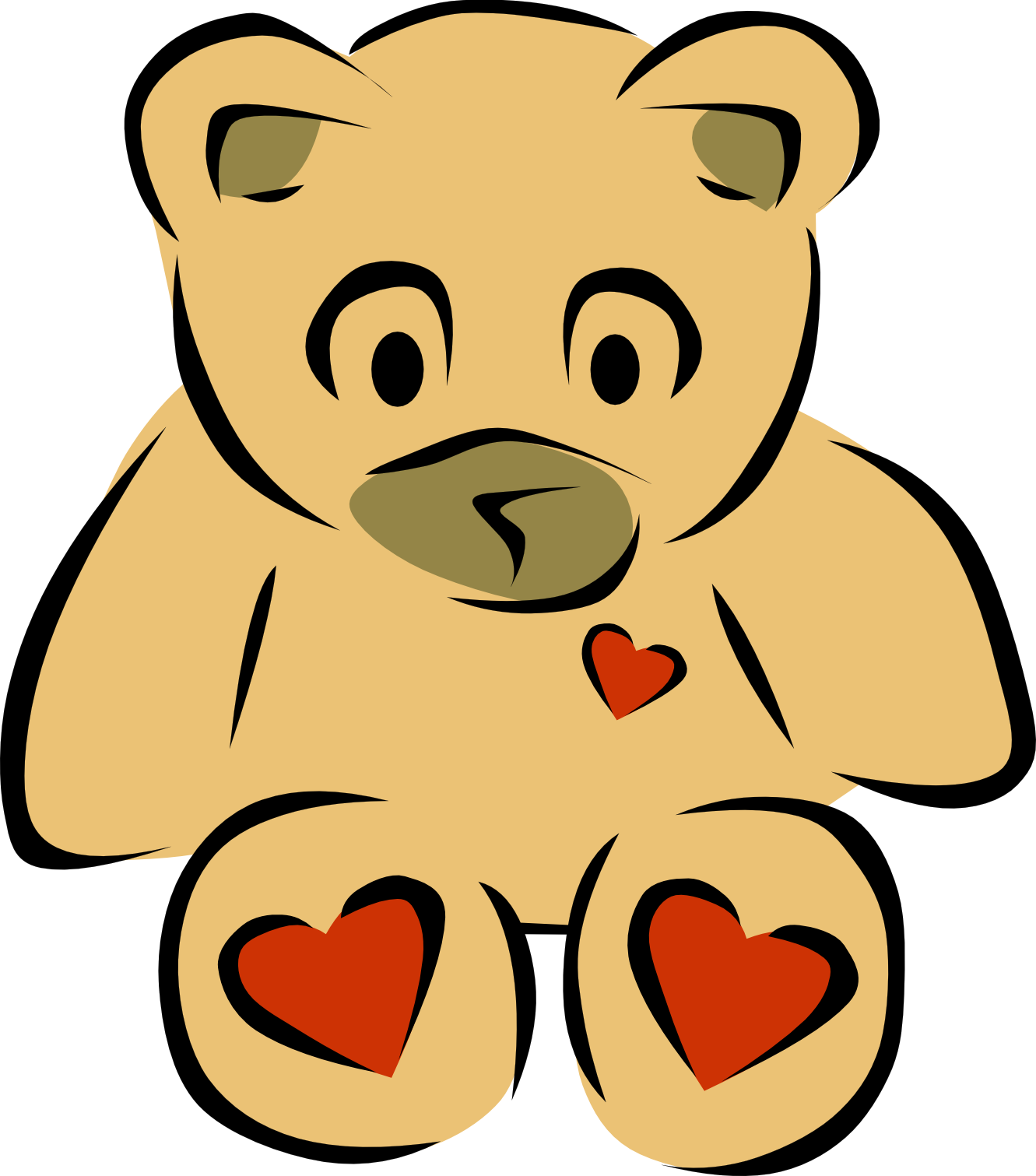 Grizzly Family clipart #2, Download drawings