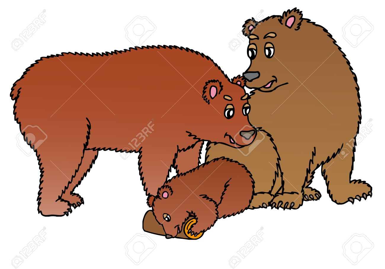 Grizzly Family clipart #15, Download drawings
