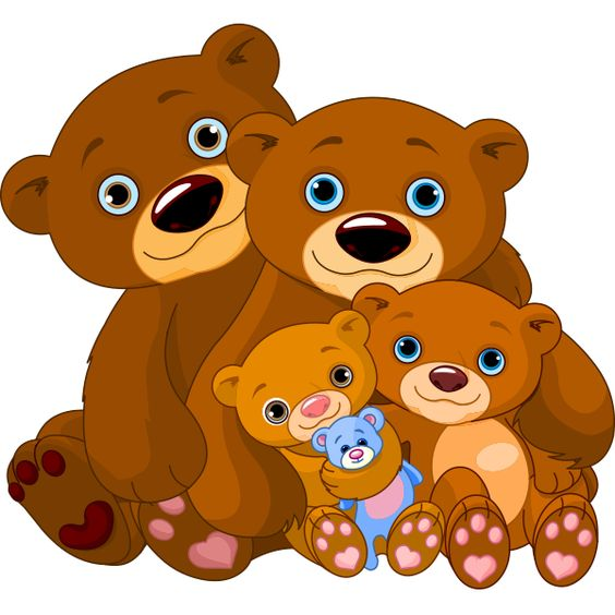 Grizzly Family clipart #7, Download drawings