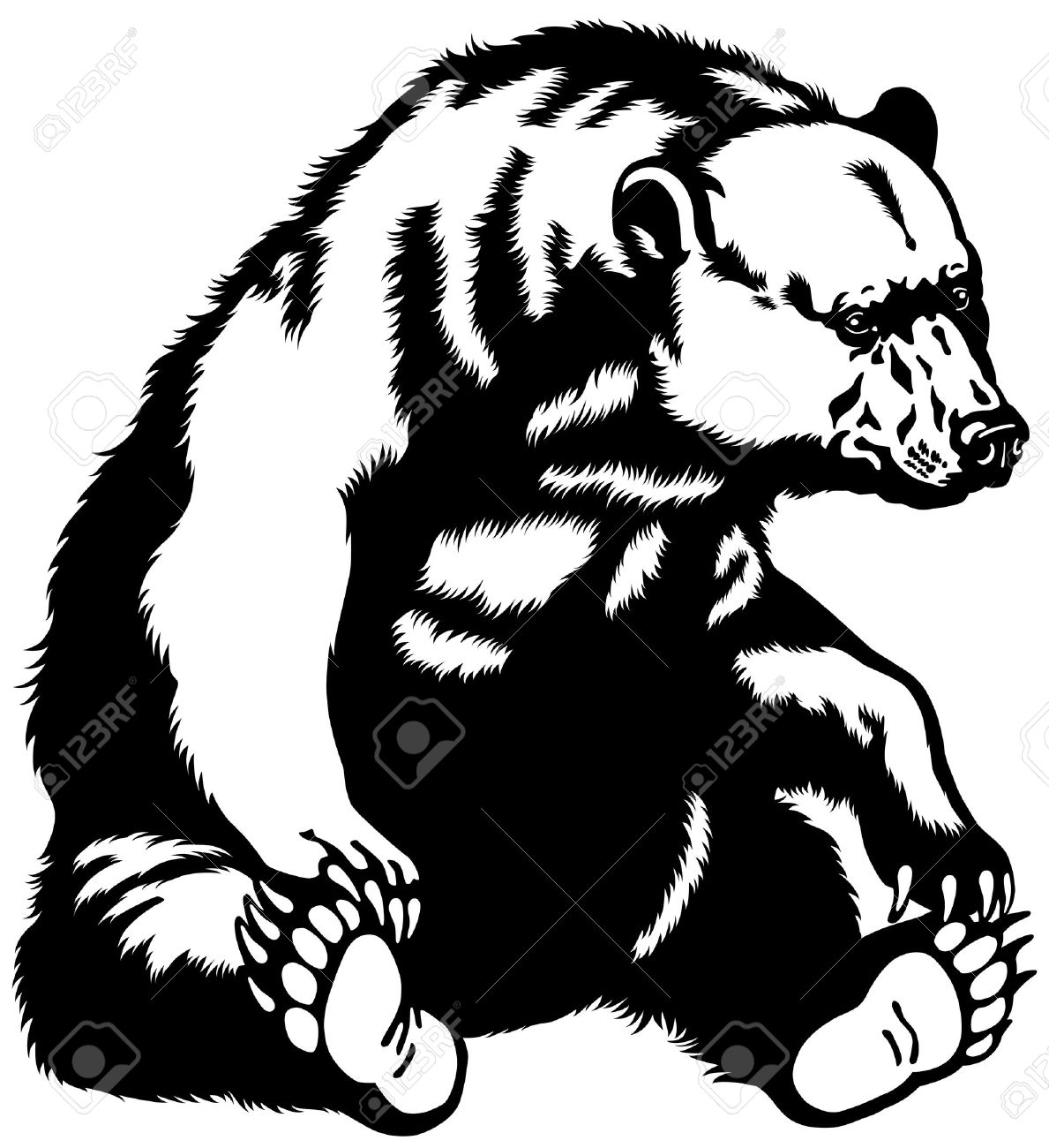 Grizzly Family clipart #10, Download drawings