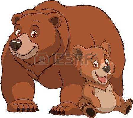 Grizzly Family clipart #20, Download drawings