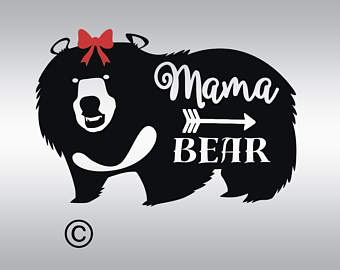 Grizzly Family svg #12, Download drawings