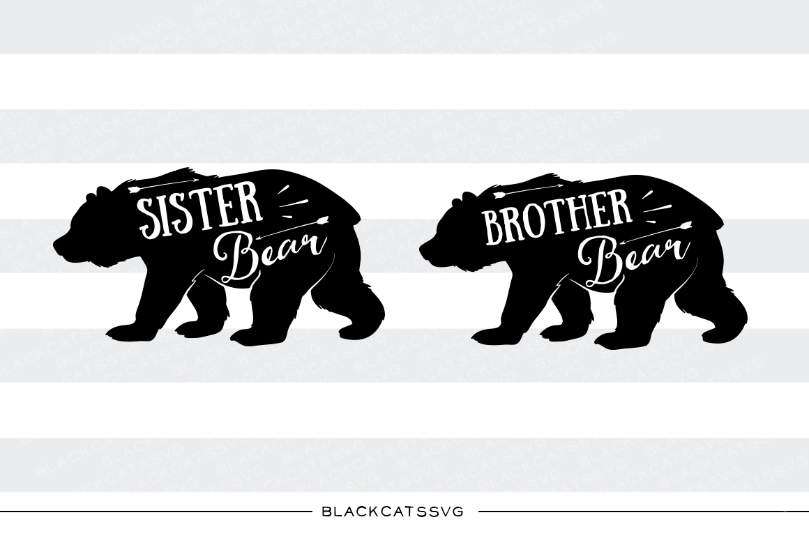 Grizzly Family svg #1, Download drawings