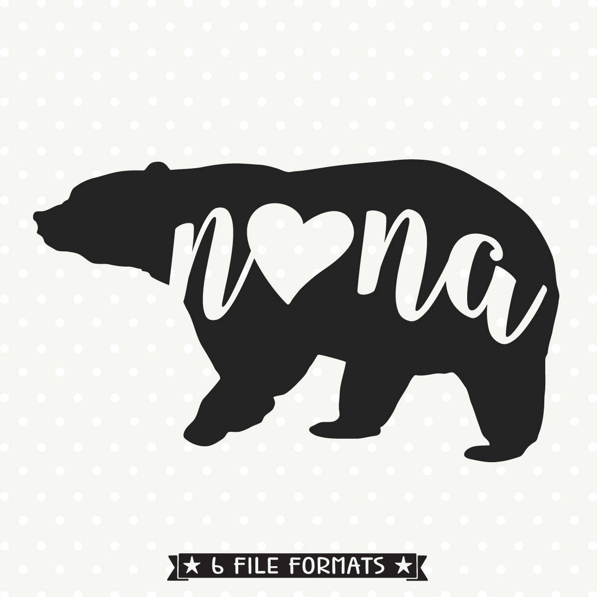 Grizzly Family svg #20, Download drawings