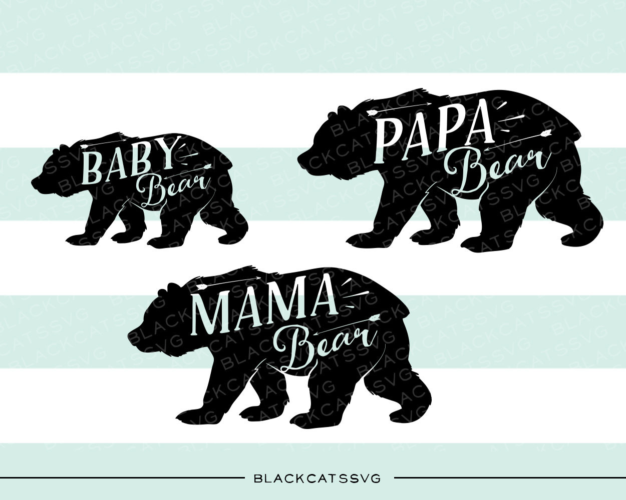 Grizzly Family svg #13, Download drawings