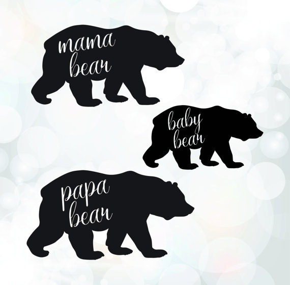 Grizzly Family svg #15, Download drawings