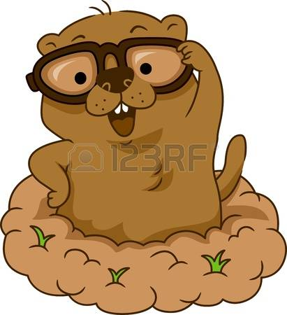 Groundhog clipart #4, Download drawings