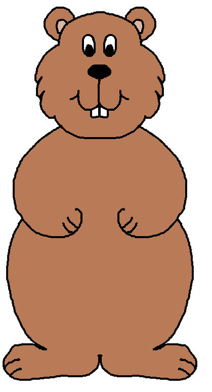 Groundhog clipart #16, Download drawings