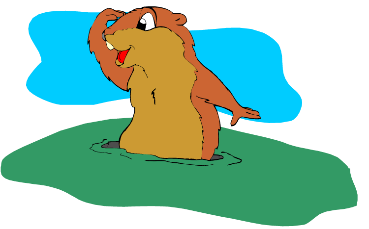 Groundhog clipart #12, Download drawings