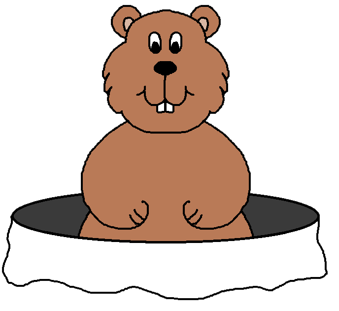 Groundhog clipart #9, Download drawings
