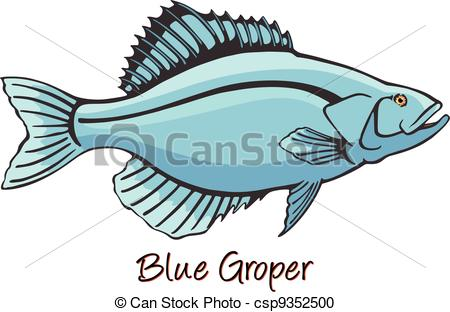 Grouper clipart #10, Download drawings