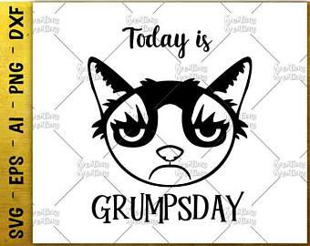 Grumpy Cat svg #15, Download drawings
