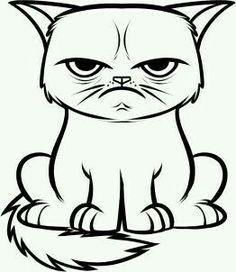 Grumpy Cat svg #6, Download drawings