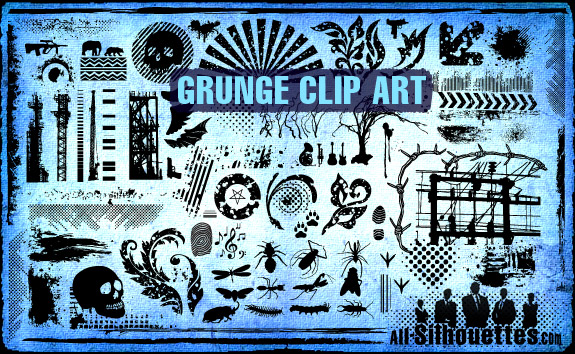 Grunge Art clipart #3, Download drawings