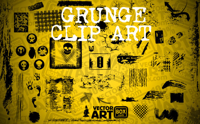 Grunge Art clipart #1, Download drawings