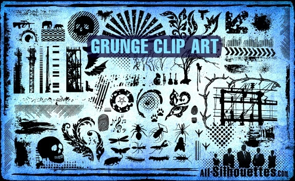 Grunge clipart #4, Download drawings